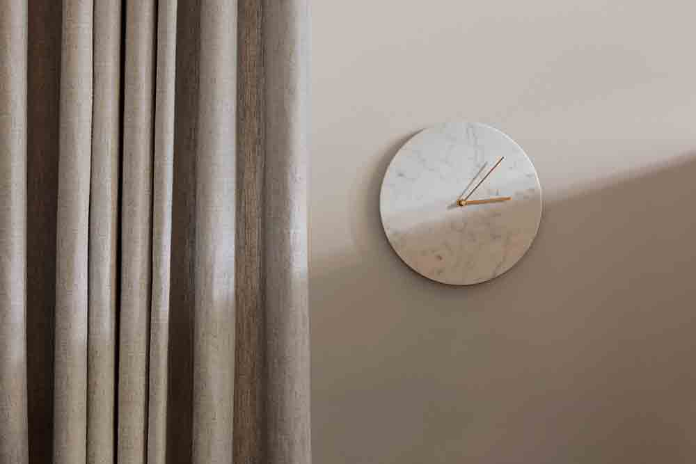 Norm Wall Clock White